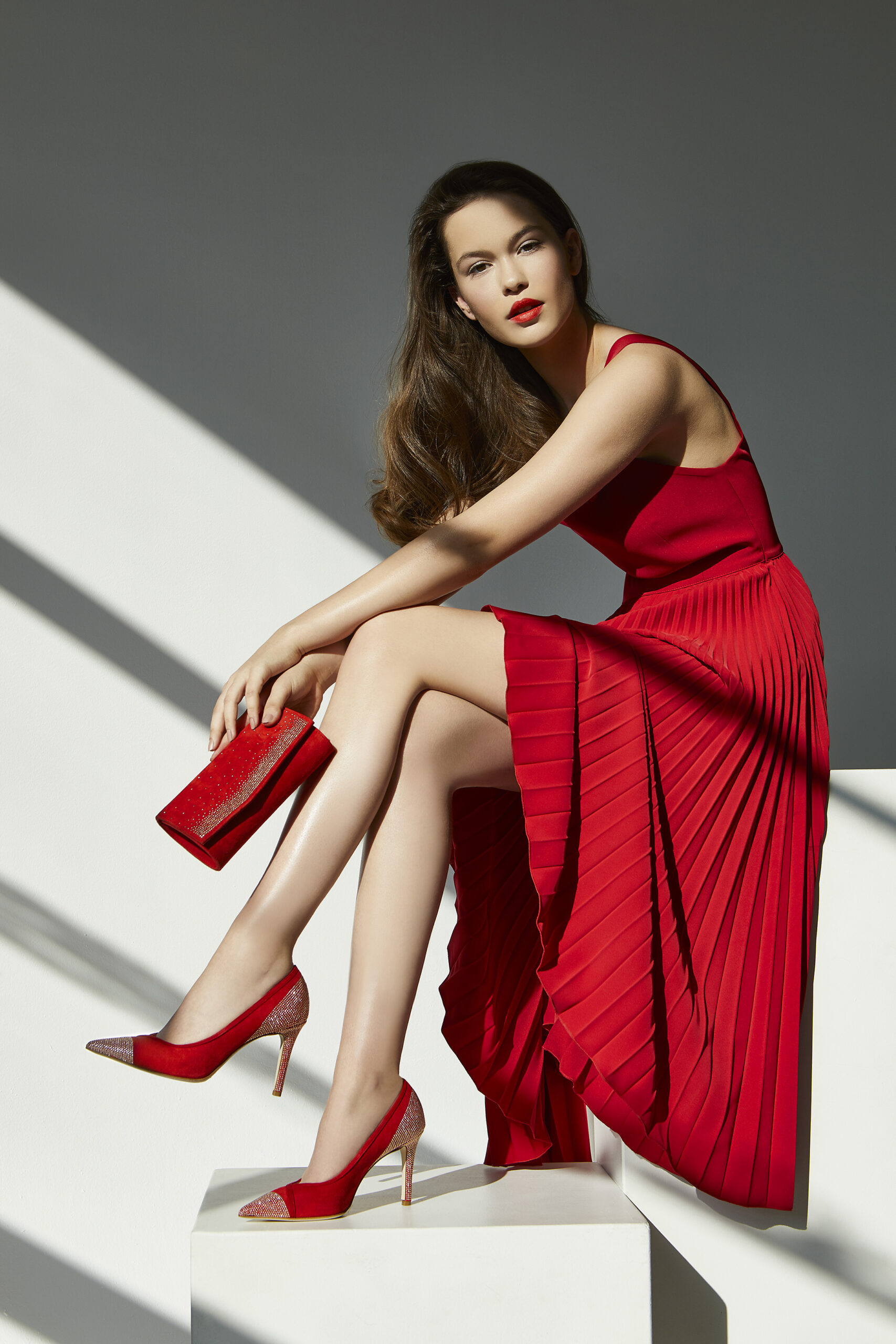 FIORANGELO collezione donna ss20 tacco rosso copertina